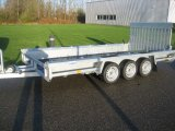 HENRA 3-assige Machine transporter 3500kg